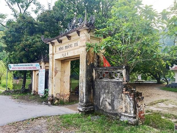 河内市黄舍洞 ——急需保护的重要历史遗迹区 hinh anh 1