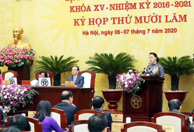 国会主席:平福省应充分发挥少数民族潜在优势 实现全面且可持续发展目标 hinh anh 2