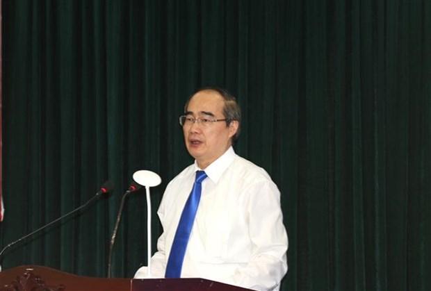 胡志明市市委书记阮善仁:进一步发挥全国经济火车头的作用 hinh anh 2