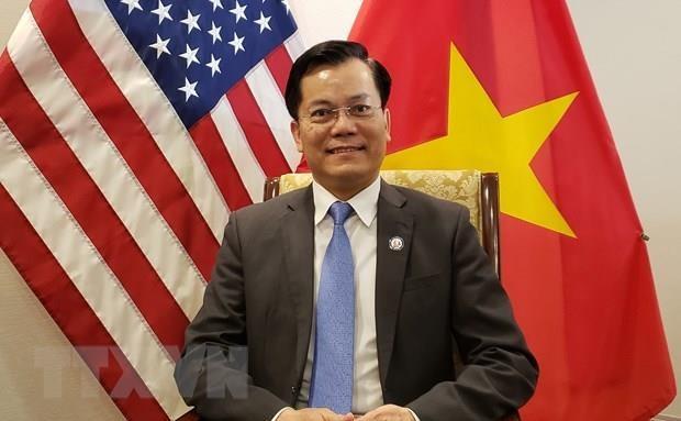 越美关系25周年:两国的合作关系取得重要成就 hinh anh 1