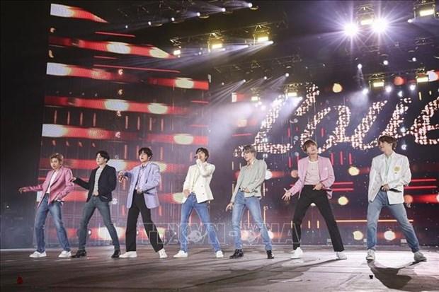 韩国SM娱乐有限公司即将在越南开设一家出售偶像产品的商店 hinh anh 1
