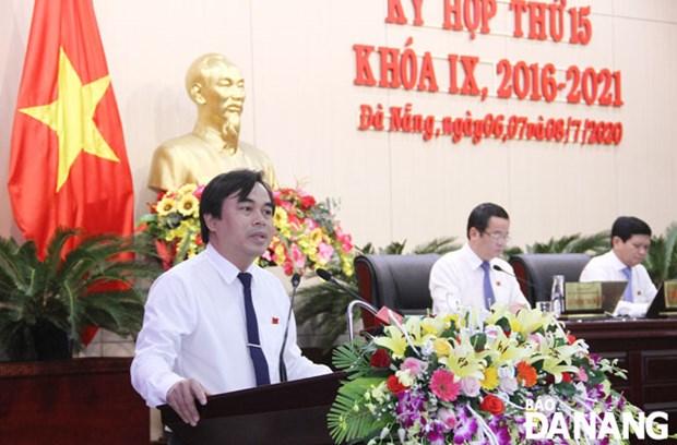 """岘港市人民委员会就""""外国人是否借用越南人的名义在岘港拥有土地使用权""""等问题进行质询 hinh anh 1"""