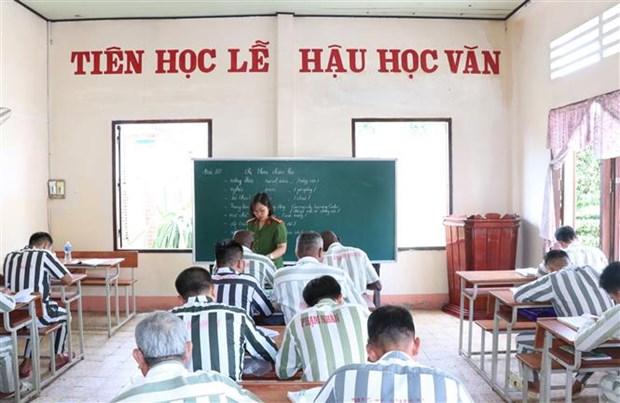 守德监狱——在越南外籍罪犯悔过向善之地 hinh anh 1