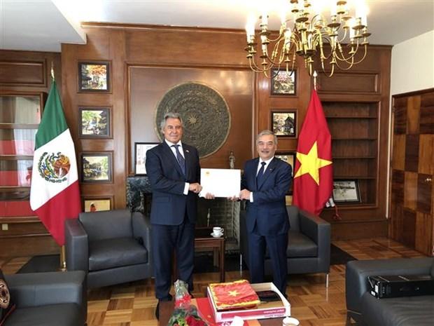 越南任命新驻墨西哥名誉领事 hinh anh 1