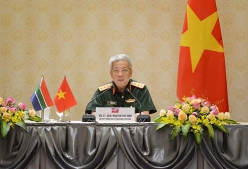推动越南与南非的防务合作 hinh anh 1