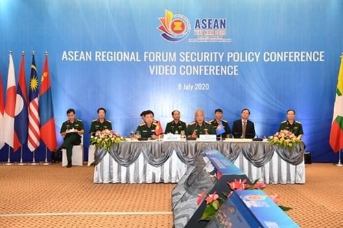 第17届东盟地区论坛安全政策会议:国际合作是解决共同安全挑战的钥匙 hinh anh 1