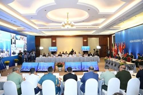 第17届东盟地区论坛安全政策会议:国际合作是解决共同安全挑战的钥匙 hinh anh 2