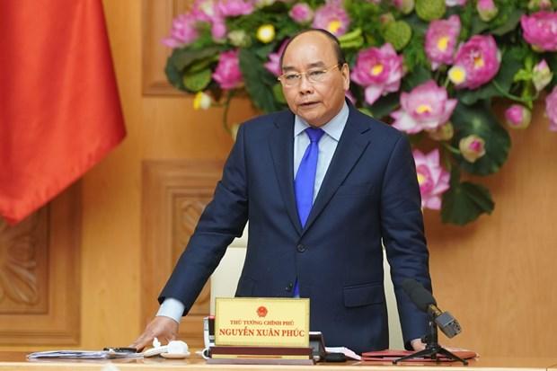 越南政府总理要求促进国家公共服务门户网站的应用力度 hinh anh 1