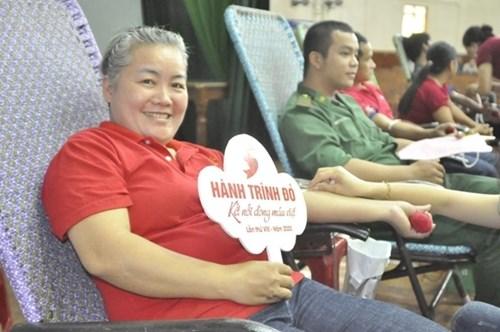 """2020年""""红色之旅""""无偿献血活动采集1.2万单位血液 hinh anh 2"""