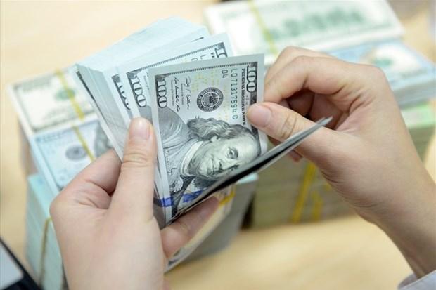 10日越盾对美元汇率中间价上调5越盾 美元汇率小幅变动 hinh anh 1