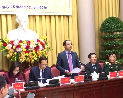 越南国家主席签署主席令公布国会通过的10项法律 hinh anh 1