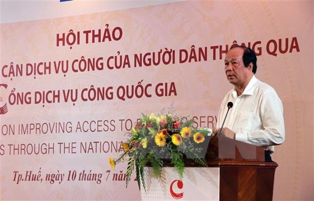 越南增强人民的公共服务利用率 hinh anh 1