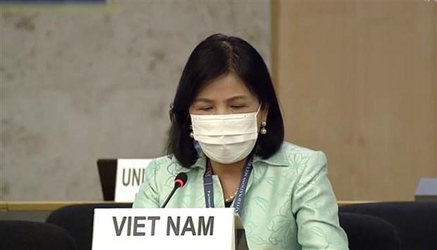 联合国人权理事会就残疾人权利进行辩论 hinh anh 1