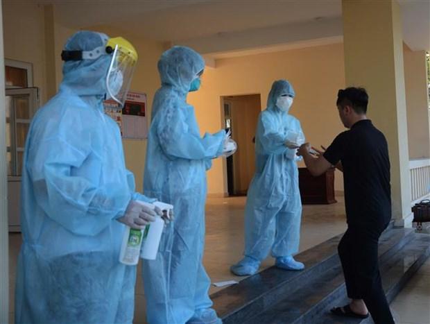 11日下午越南无新增新冠肺炎确诊病例 英国籍飞行员出院 hinh anh 1