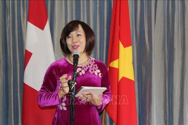 越南与瑞士加大经贸合作力度 hinh anh 1