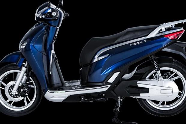 越南新款电动摩托车PEGA-S即将进入中国和欧洲市场 hinh anh 1