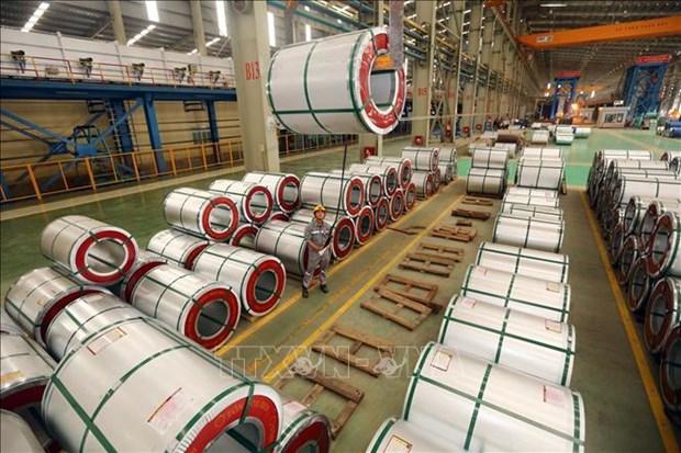 越南工贸部要求菲律宾将越南从三项钢铁防卫措施调查中删除 hinh anh 1