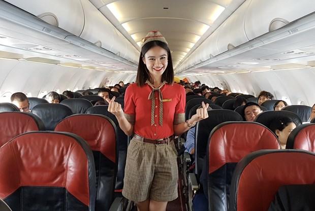 泰国越捷航空的13条国内航线将出售50泰铢起的特价机票 hinh anh 2