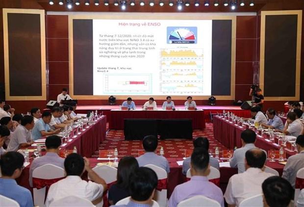 越南积极主动预防自然灾害并开展灾后重建工作 hinh anh 1