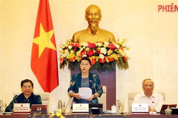 越南国会常委会第四十六次会议开幕 hinh anh 1