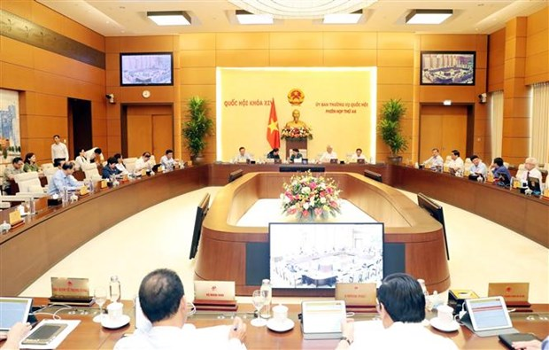 越南国会常委会第四十六次会议开幕 hinh anh 2