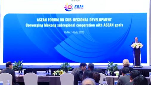 大湄公河次区域加强可持续发展合作 hinh anh 1