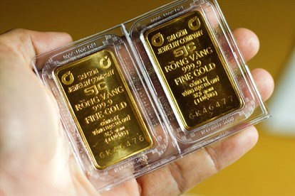 7月14日越南国内黄金价格有所下降 hinh anh 1