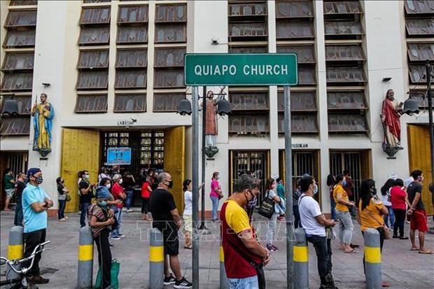 新冠肺炎疫情:菲律宾大马尼拉地区纳沃塔斯市宣布再度封城 hinh anh 1