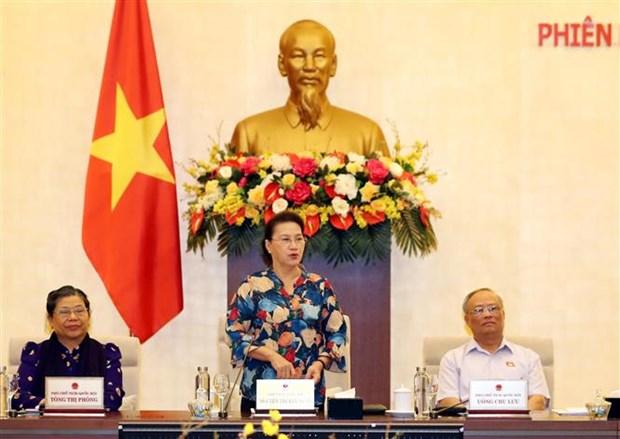 越南国会常委会第46次会议闭幕 hinh anh 1