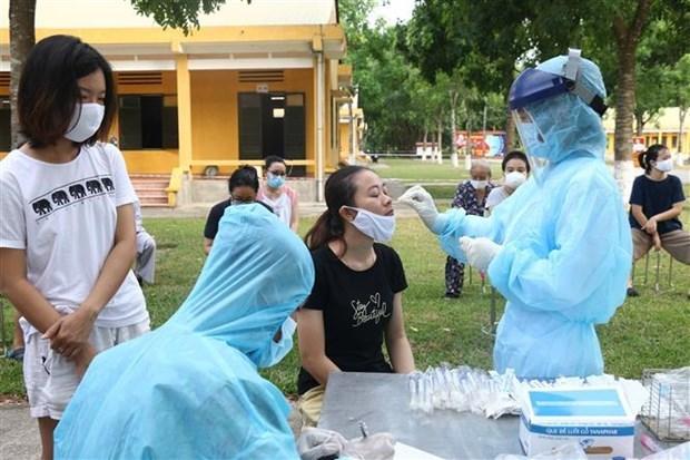 越南新增一例新冠肺炎确诊病例 为境外输入性病例 hinh anh 1