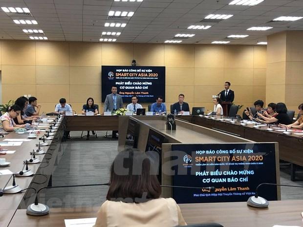 2020年亚洲智慧城市国际展将于9月3日至5日在胡志明市举行 hinh anh 1