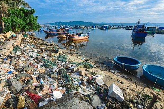 越南无塑料污染海洋创意设计运动启动 hinh anh 1