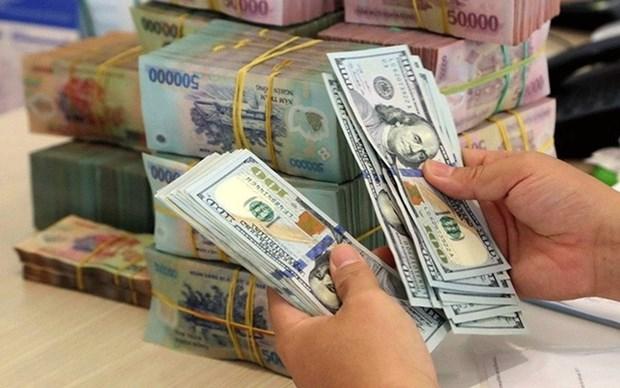 7月15日越盾对美元汇率中间价下调10越盾 hinh anh 1