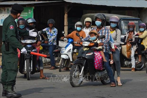 新冠肺炎疫情:今年上半年柬埔寨经济陷入停滞状态 hinh anh 1