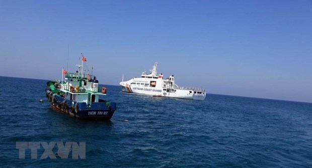 越南海警力量重拳打击海上违法犯罪活动 hinh anh 1