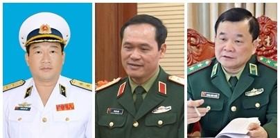 越南政府总理阮春福任命三位国防部副部长 hinh anh 1