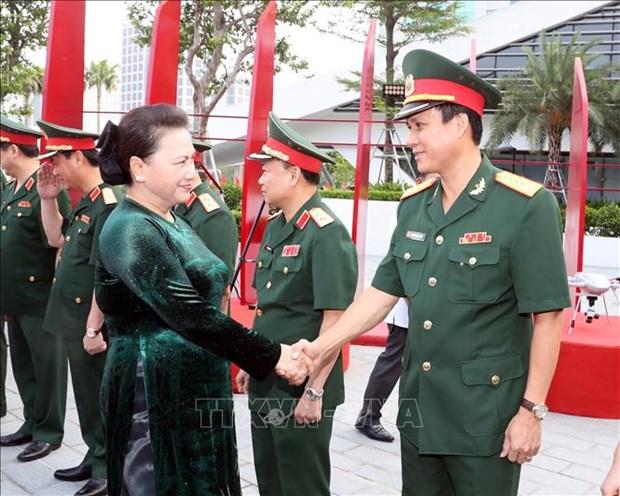 国会主席阮氏金银:Viettel需继续发挥率先构建越南数字生活、数字社会的作用 hinh anh 2