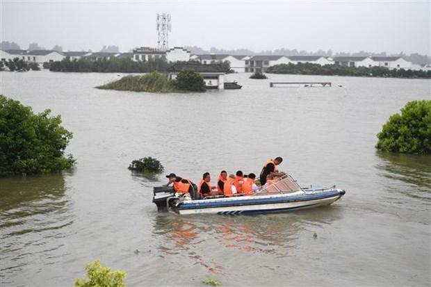 陈国旺就中国遭受严重洪涝灾害致电表示慰问 hinh anh 1