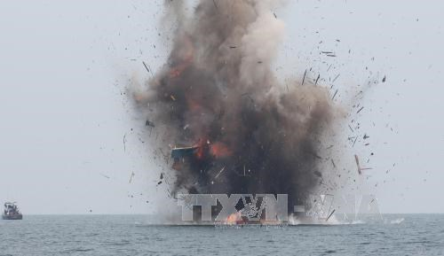 印尼与马来西亚采取强硬措施打击非法捕鱼行为 hinh anh 1