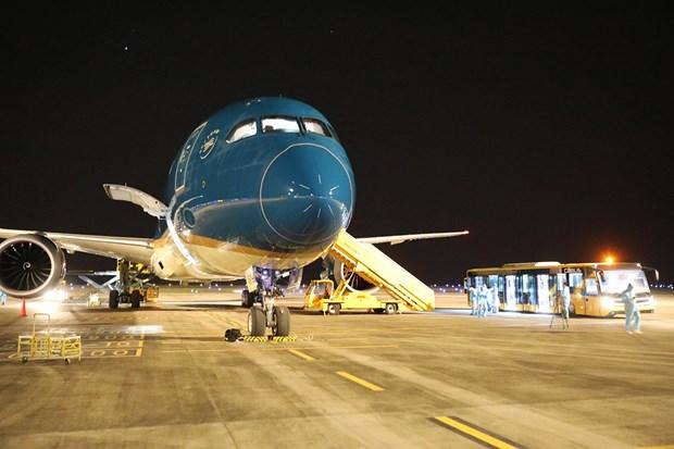 把在美国的越南公民接回国 一名乘客在飞行中发生意外抢救无效死亡 hinh anh 1