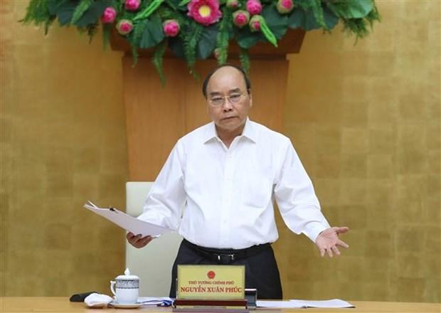 阮春福:集中精力促进280亿美元公共投资资金的实际到位 hinh anh 2