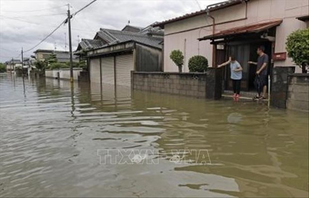 陈国旺致电慰问日本洪灾 hinh anh 1