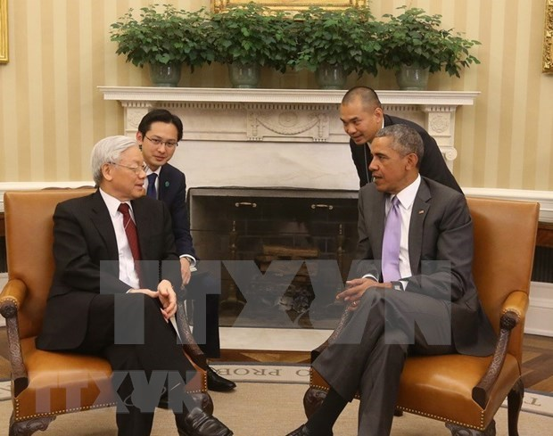 越美建交25周年:推动越美两国合作关系全面发展 hinh anh 1