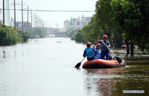 越南向中国援助10万美元用于灾后重建工作 hinh anh 1