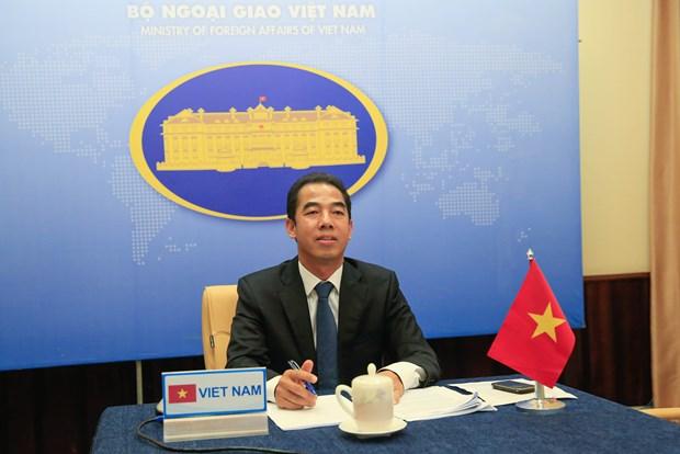 越南外交部副部长苏英勇与英国外交大臣奈杰尔·亚当斯举行电话会谈 hinh anh 1
