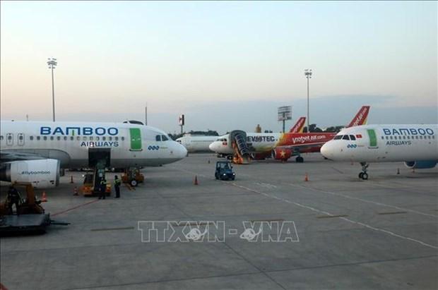 越南各家航空公司对国内航班飞行频率作出调整 hinh anh 1