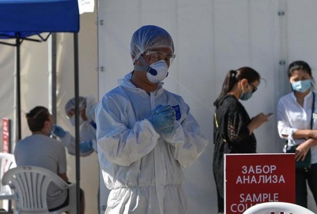 越南向哈萨克斯坦赠送医疗用品以抗击新冠肺炎疫情 hinh anh 1