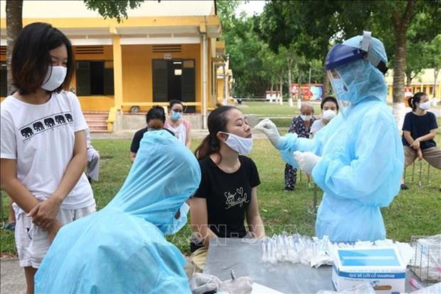 越南无新增新冠肺炎确诊病例 第一次和第二次以上检测呈阴性反应10例 hinh anh 1