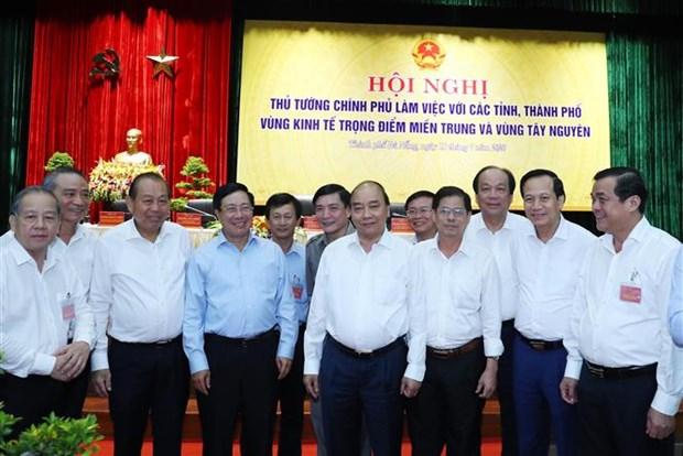 阮春福总理:中部西原地区任何省市不能出现负增长 确保公共投资项目资金到位率达近100% hinh anh 3