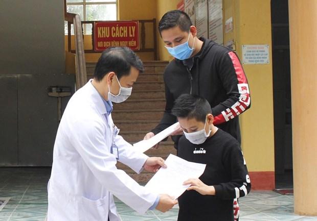 19日下午越南新增1例境外输入病例 其为缅甸籍船员 hinh anh 1